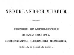 Nederlands Museum – Jaargang 2017 e.v.