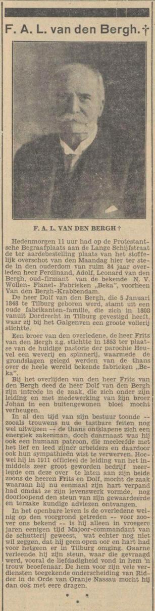 Dolf van den Bergh