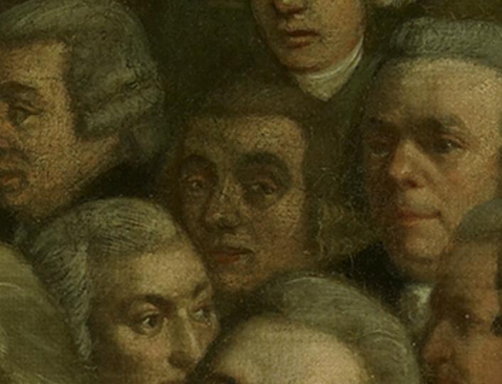 Jan Baptista van Aerde (ca 1738 – 1812), katholieke immigrant en kunstschilder met een 'Nieuwmodische Kamer-Behangsels' en tekenspullen winkel in de Kalverstraat, Amsterdam.